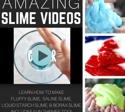 Awesome Slime Recipe Videos To Learn How To Make Slime