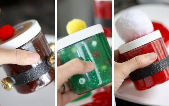 Homemade Christmas Slime Recipe