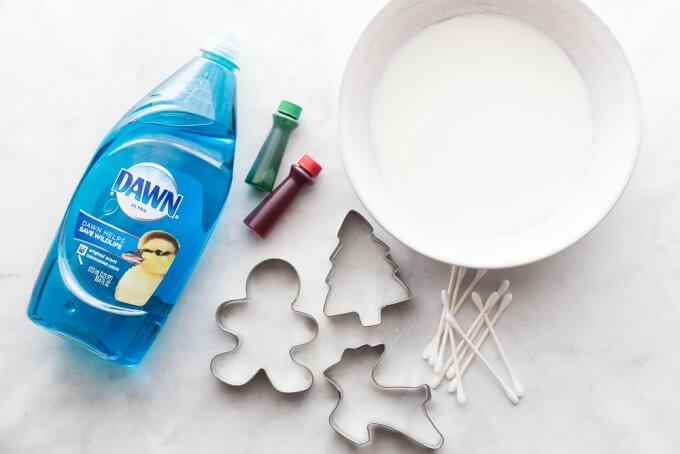 Santa's magic milk supplies