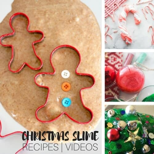 11 christmas slimes for festive slime making fun with kids