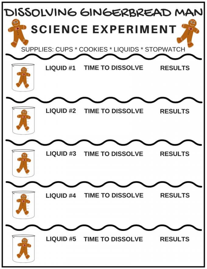 graphic about Printable Christmas Activities known as Printable Xmas STEM Routines and Science Research