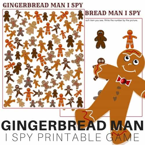 photo relating to Printable Gingerbread Men identified as Printable Gingerbread Gentleman Video game for Small children Xmas Actions