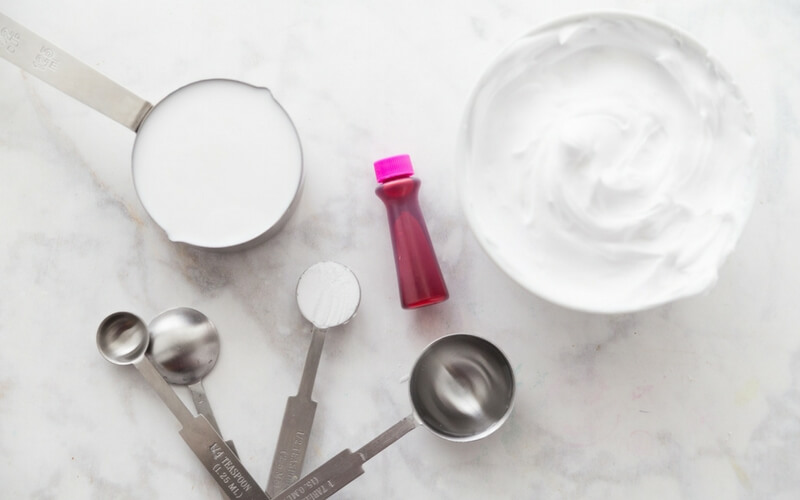 How To Make Fluffy Slime with this ingredients