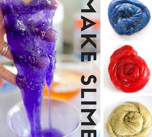 How To Make Slime Recipes With Kids