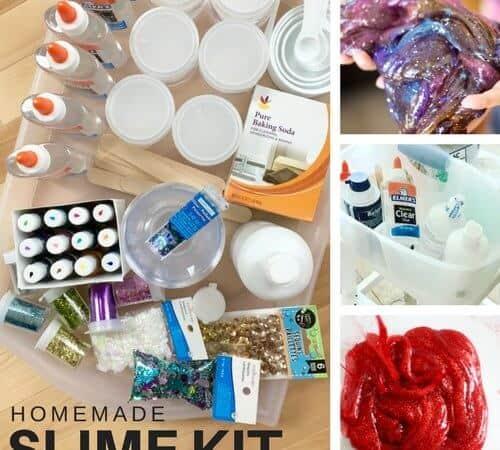 Easy To Make Homemade Slime Kit for Kids Science