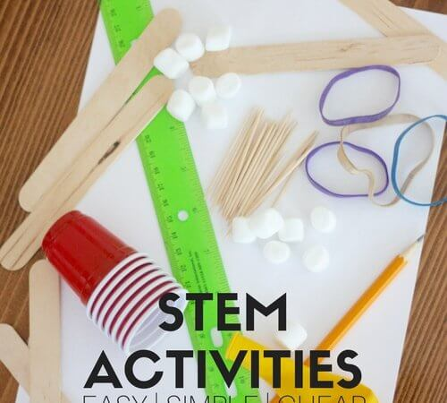 BEST Ever Vacation STEM Activities To Keep Kids Busy!