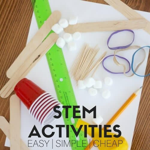 Fun Summer Stem Activities: Simple STEM Activities And Easy STEM Challenges To Keep