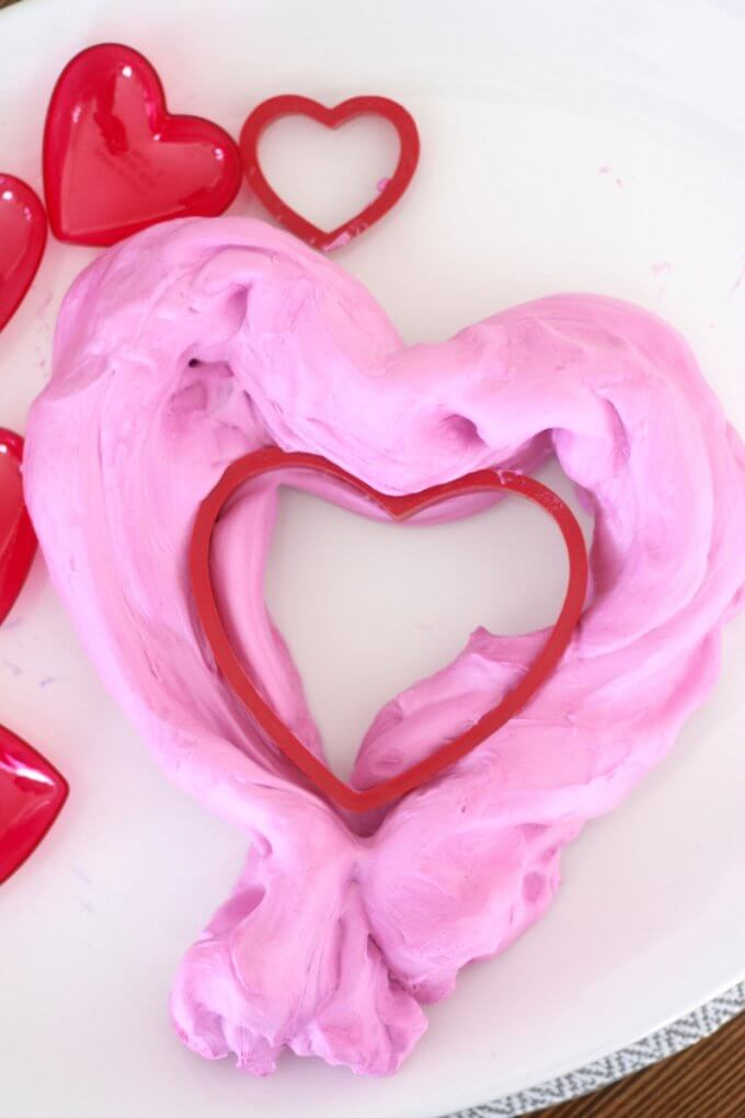 Easy To Make Valentines Day Fluffy Slime Recipe
