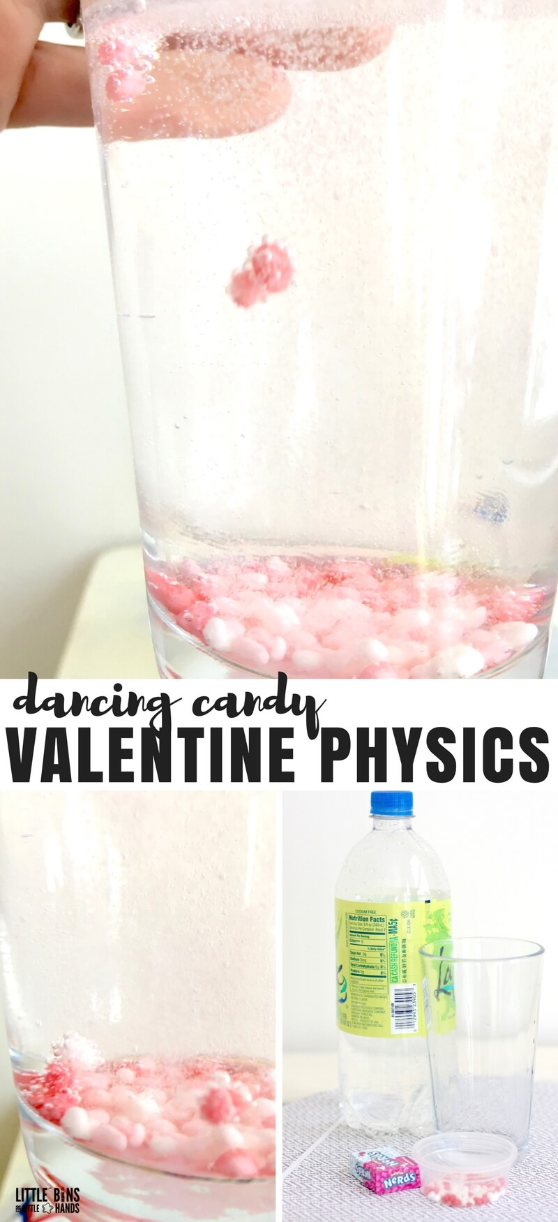 Valentines Day Physics Activities: Dancing Candy Buoyancy and Matter Activity