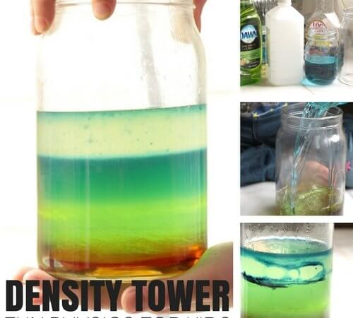 Liquid Density Tower Physics Activity That's Actually Easy To Make!