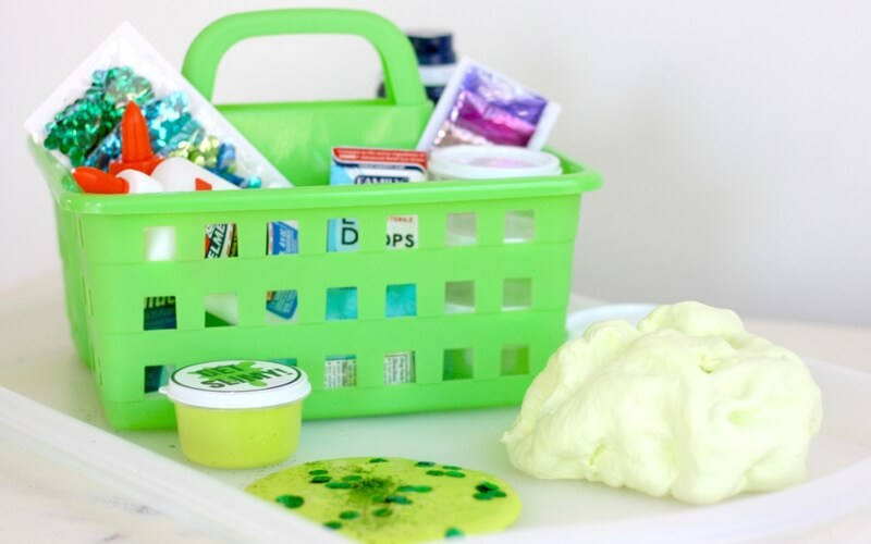 Dollar Store Slime Recipes: Homemade Dollar Store Slime Kit