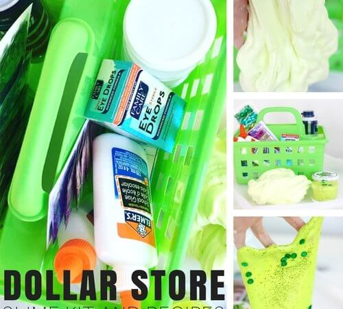 Dollar Store Slime Recipes and DIY Homemade Slime Kit!