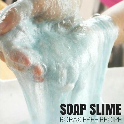 borax free slime : Ivory Soap Slime