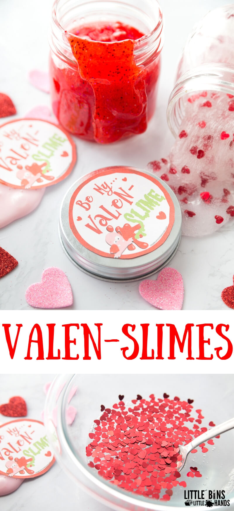 Valentines Slime Ideas For Valentines Day Science And Stem