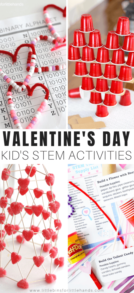 Valentines Day STEM activities and Science experiments