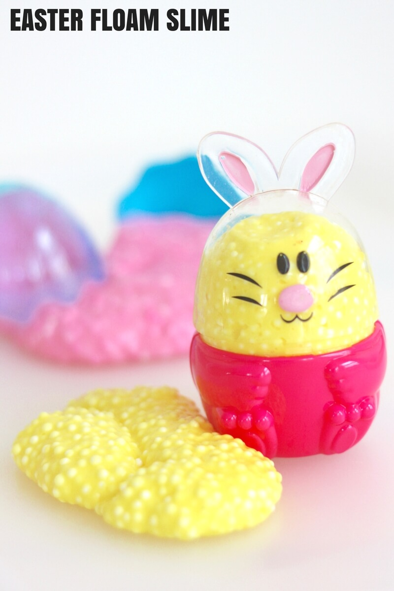 Easy Floam Easter Slime Recipe for Kids