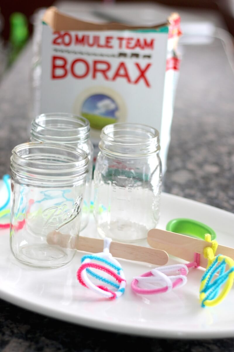 Crystal Easter Science Experiment For Kids Growing Borax