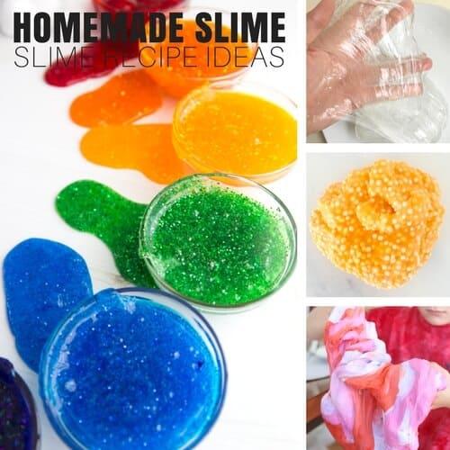 homemade slime