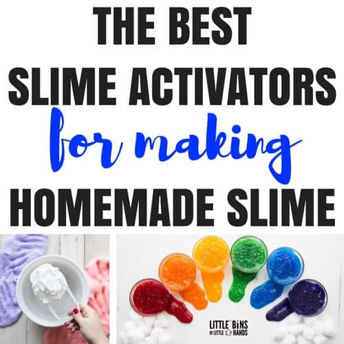 Slime activator list for making the best homemade slime with kids ccuart Choice Image