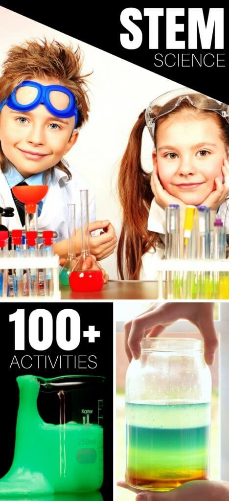 STEM activities for kids. The best resource for science activities and STEM challenges you will ever need. We have everything science including chemistry and physics for kids for ages 3-9. We even have slime science and homemade slime recipes. Simple and easy kids science experiments that make for fun science activities kids can't get enough of!