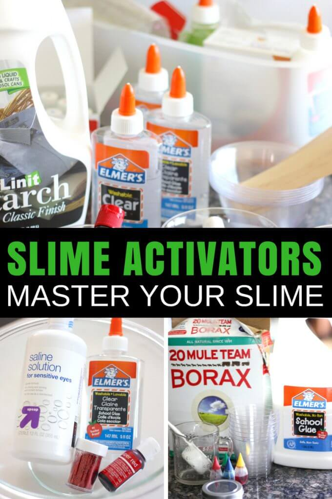 Slime activator list for making the best homemade slime with kids making amazing homemade slime is all about having the right slime ingredients the best ingredients ccuart