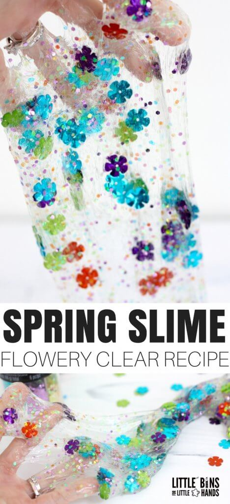 Easy Spring Slime Recipe for Kids