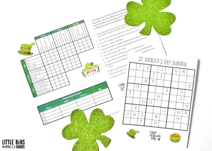 picture regarding St Patrick Day Printable Activities identify Printable St Patricks Working day STEM Pursuits for Little ones (Absolutely free)