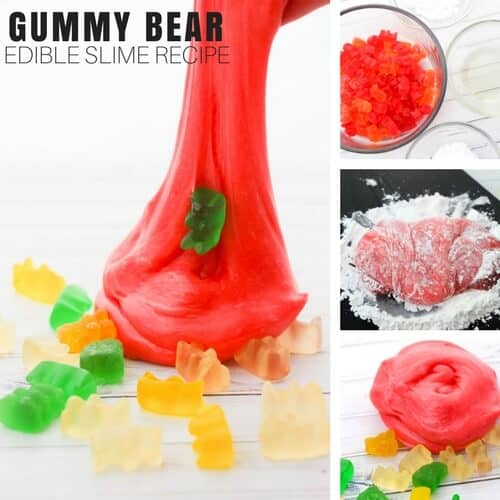 Borax Free Slime Gummy Bear Slime