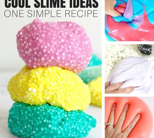 Simple Slime Recipe with Borax