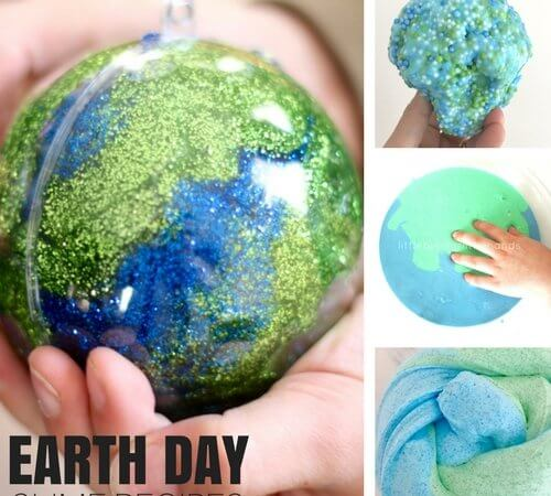 Easy To Make Earth Day Slime Recipe Ideas Kids Will Love!