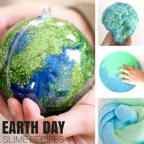 Make slime for Earth Day