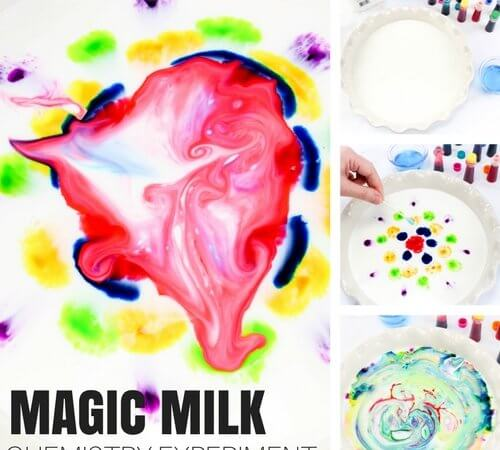 Magic Milk A Classic Science Experiment and Chemistry for Kids