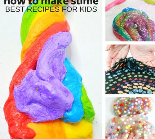 How To Make Slime with Glue for Easy Homemade Slime Fun!