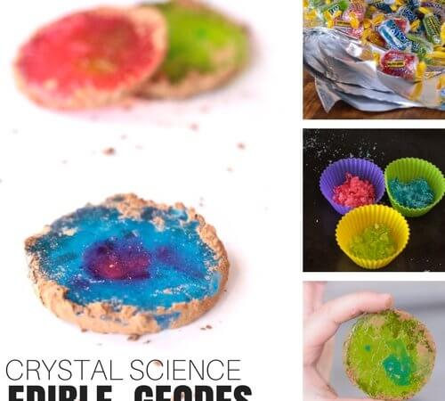 How To Make Edible Geode Crystals Science Activity