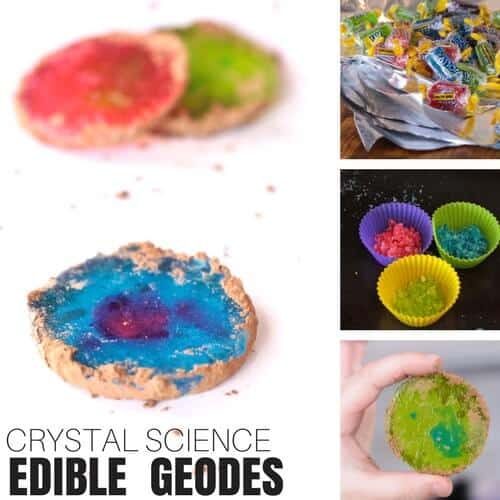 edible science for kids candy geodes and crystals