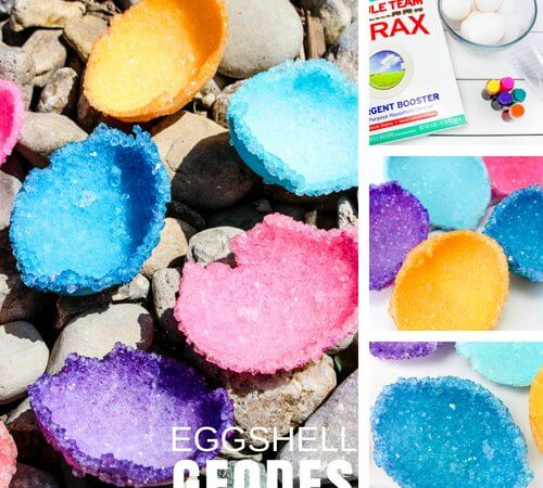 Eggshell Geodes Crystal Growing Science Activity