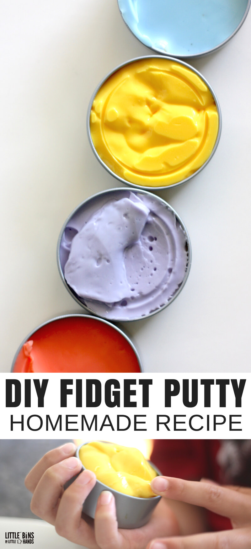 Make your own homemade fidget putty recipe for less make your own homemade fidget putty recipe ccuart Gallery