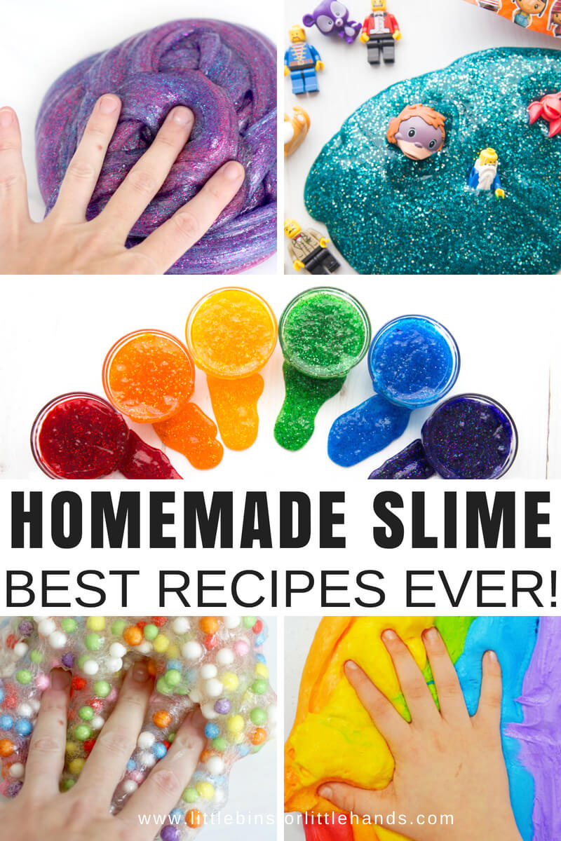 homemade slime with these slime recipes