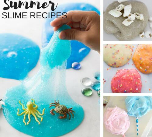 Summer Slime Recipes for Sizzling Homemade Summer Fun!