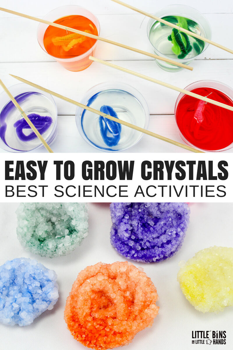 Crystals are fascinating, and I absolutely remember a science project I did years ago where we grew some awesome crystals. But they took forever to grow! Want to know how to grow crystals with borax fast? Learn how to grow borax crystals overnight for a cool kids science project and rockhound or science enthusiast will love.