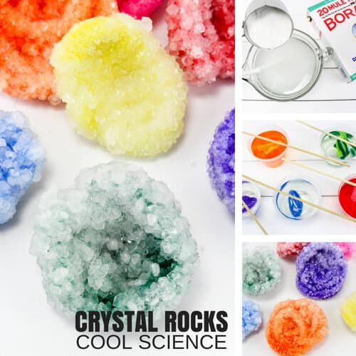 How To Grow Crystals With Borax Fast for Best Kids Science