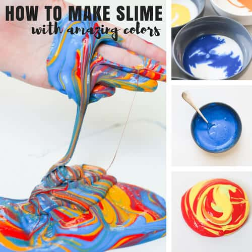 how to make slime with glue for awesome kids activities