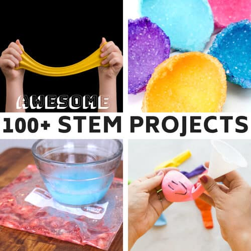 100+ STEM Projects for Kids (With Free Cheat Sheets)