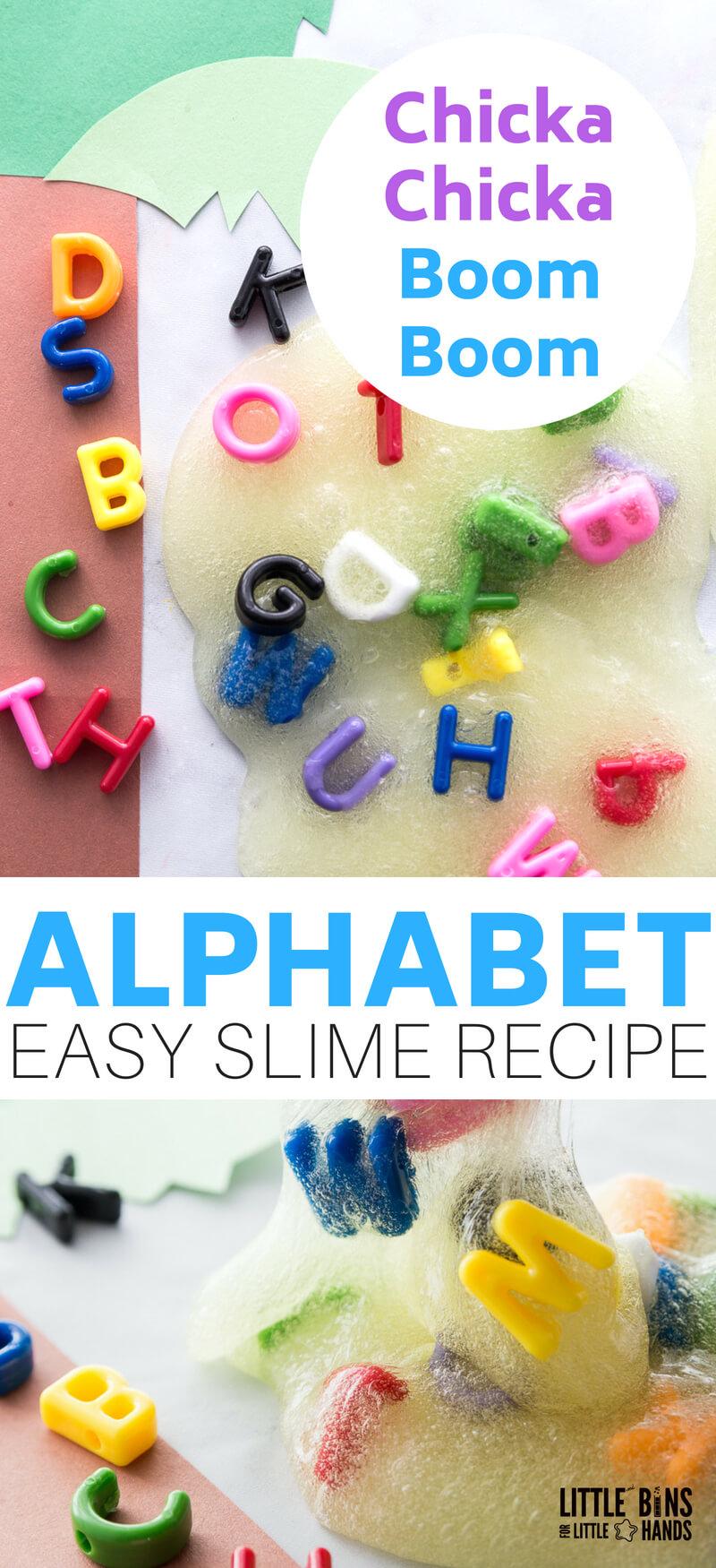 alphabet slime