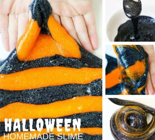 Elmers Glue Halloween Slime Recipe for Creepy Cool Slime Making