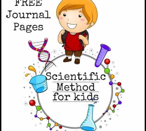 Scientific Method For Kids With Examples (FREE Printable Journal Pages)
