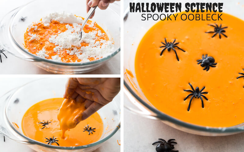 Halloween Science Experiment How To Make Oobleck
