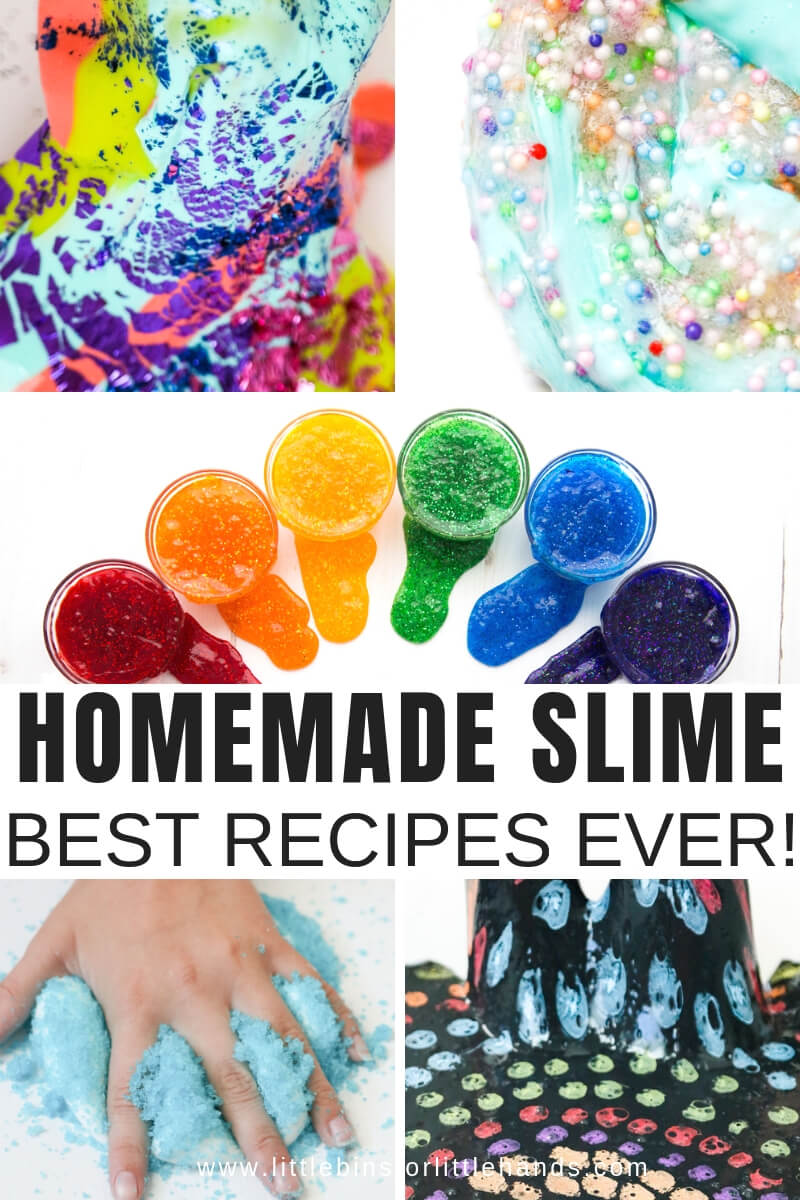21+ Amazing Homemade Slime Recipe Ideas for Kids