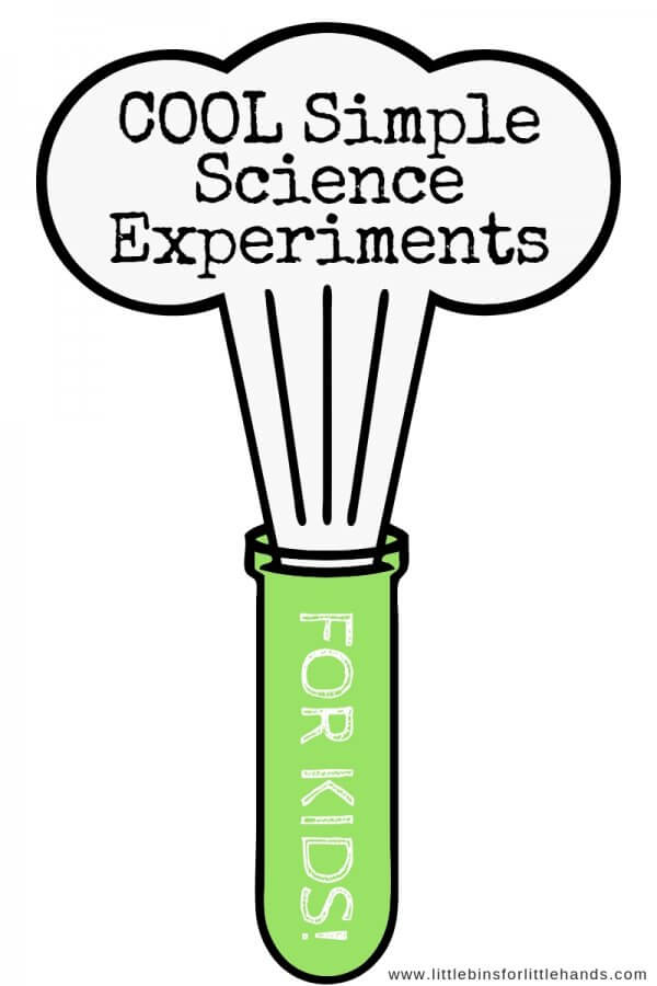Simple science experiments and STEM activities for home or in the classroom.