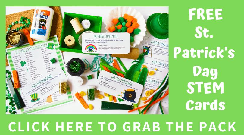 St Patricks Day STEM Challenge Cards